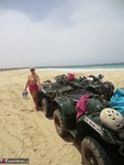 Barby. Quad Bikes Topless In Cape Verde Free Pic 4