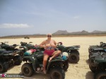 Barby. Quad Bikes Topless In Cape Verde Free Pic 7