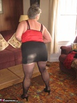 Girdle Goddess. Black Bodyshaper Free Pic 6