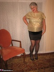 Girdle Goddess. Glittering In Gold Free Pic 5