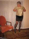 Girdle Goddess. Glittering In Gold Free Pic 6