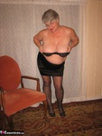 Girdle Goddess. Glittering In Gold Free Pic 10
