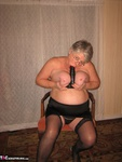 Girdle Goddess. Glittering In Gold Free Pic 13