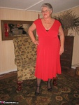 GirdleGoddess. Red Hot In Red Dress Free Pic 1