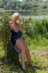 Melody. Dress Strip By The Lake Free Pic 5