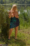 Melody. Dress Strip By The Lake Free Pic 13