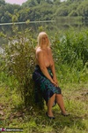 Melody. Dress Strip By The Lake Free Pic 14