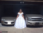 GangbangMomma. Bride In White Showing Pink Free Pic 13