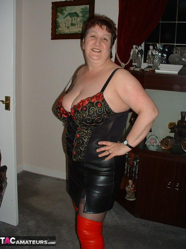 Bbw thigh high boots