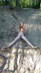 Evelina. Stripping Outdoors Free Pic 14