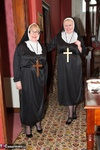 ClaireKnight. Two Naughty Nuns Free Pic 1