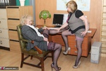 ClaireKnight. In The Office With Trisha Free Pic 16
