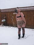 GirdleGoddess. Snow Strip Free Pic 12