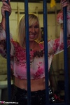 Melody. PVC Trousers In The Cage Free Pic 5