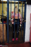 Melody. PVC Trousers In The Cage Free Pic 7