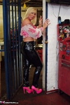 Melody. PVC Trousers In The Cage Free Pic 11