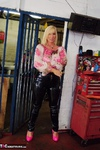 Melody. PVC Trousers In The Cage Free Pic 14