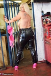Melody. PVC Trousers In The Cage Pt2 Free Pic 2