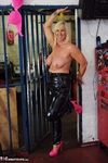 Melody. PVC Trousers In The Cage Pt2 Free Pic 5