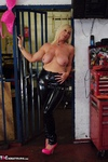 Melody. PVC Trousers In The Cage Pt2 Free Pic