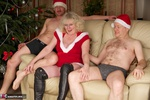 ClaireKnight. Christmas Orgy Pt1 Free Pic 1