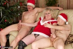 ClaireKnight. Christmas Orgy Pt1 Free Pic 6
