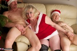 ClaireKnight. Christmas Orgy Pt1 Free Pic 11