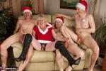 ClaireKnight. Christmas Orgy Pt1 Free Pic 16