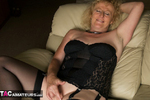 ClaireKnight. Black Lingerie Free Pic 13