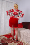 Fanny. Red Seam Stockings Free Pic 2