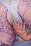 Fanny. Purple Body Stocking Free Pic 9