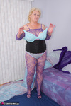 Fanny. Purple Body Stocking Free Pic 12