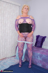 Fanny. Purple Body Stocking Free Pic 17