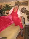 Girdle Goddess. Sexy Red Dress Free Pic 1