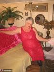 Girdle Goddess. Sexy Red Dress Free Pic 5