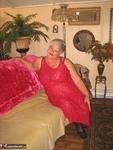 Girdle Goddess. Sexy Red Dress Free Pic 6