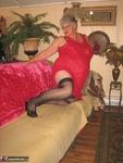 Girdle Goddess. Sexy Red Dress Free Pic 7