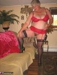 Girdle Goddess. Sexy Red Dress Free Pic 12