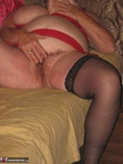 Girdle Goddess. Sexy Red Dress Free Pic 18