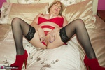 SpeedyBee. Red Lingerie Free Pic