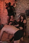VeronicaJade. Fun with two guys in a dungeon Free Pic 1