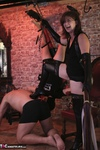 VeronicaJade. Fun with two guys in a dungeon Free Pic 4