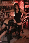 VeronicaJade. Fun with two guys in a dungeon Free Pic