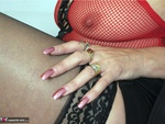 Dimonty. Red Fishnet Free Pic 13