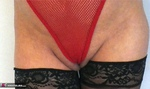 Dimonty. Red Fishnet Pt2 Free Pic 2