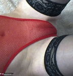 Dimonty. Red Fishnet Pt2 Free Pic 12