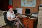 ValgasmicExposed. In The Office Free Pic 1