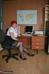 ValgasmicExposed. In The Office Free Pic 3