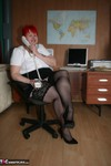 ValgasmicExposed. In The Office Free Pic
