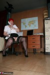 ValgasmicExposed. In The Office Free Pic 5